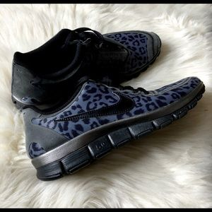 Nike Free Leopard Suede Trainers limited edition